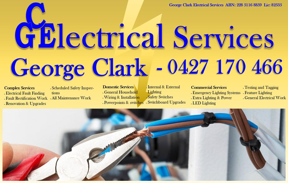 George Clark Electrical Services-   Electrician- Toowoomba